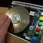 Build a Rotary DJ Controller Out of an Old Hard Drive