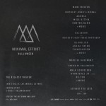 Minimal Effort Halloween 2015 - October 31, 2015